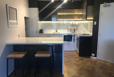 apartment kitchen renovation